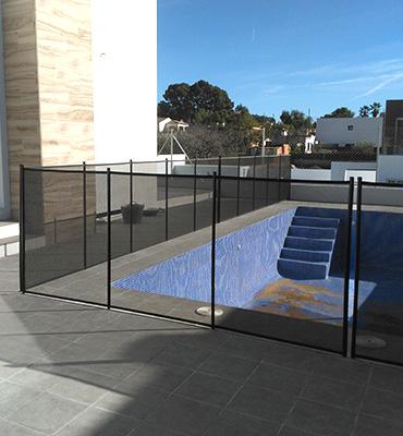 Vallas de piscinas desmontables de m xima seguridad for Vallas para piscinas desmontables